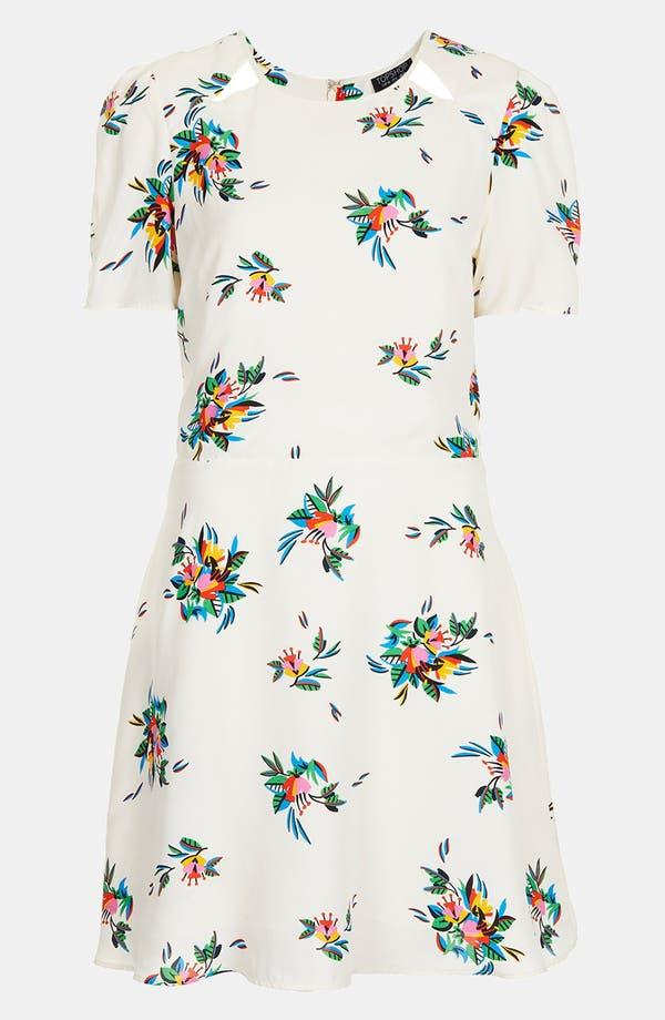 Alternate Image 3  - Topshop Floral Tea Dress