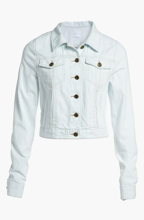 Main Image - Leith Crop Denim Jacket