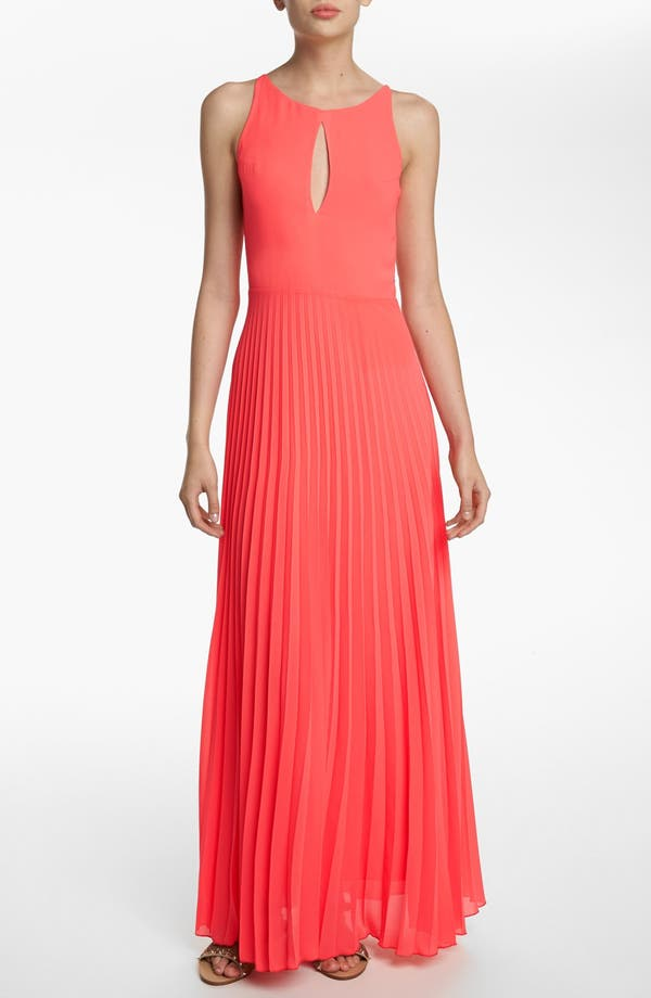 Main Image - Like Mynded Pleated Maxi Dress