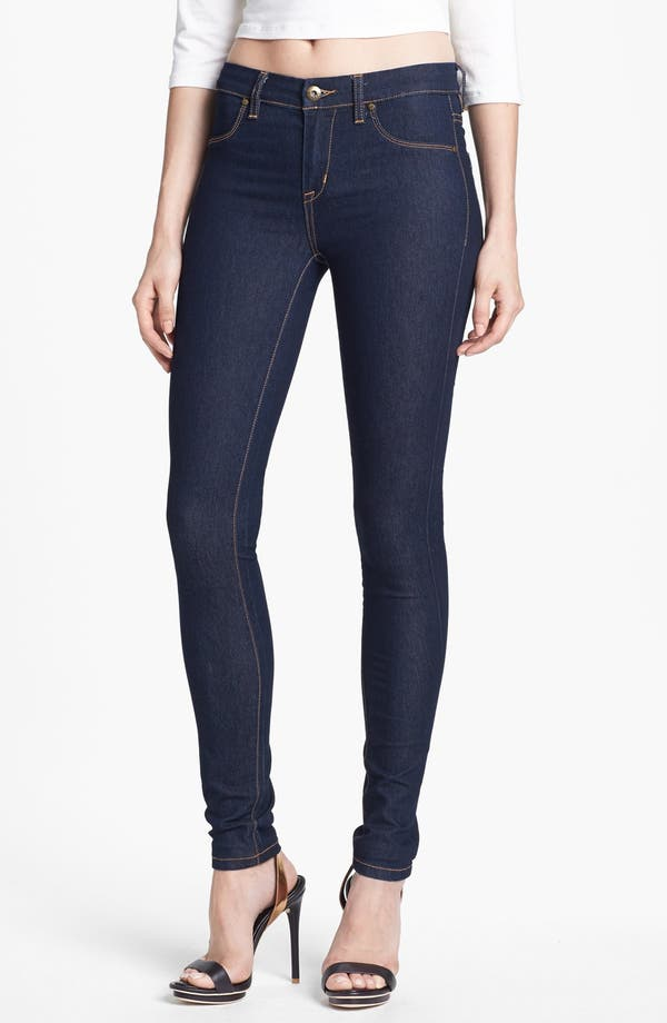 Main Image - BLANKNYC High Rise Skinny Jeans