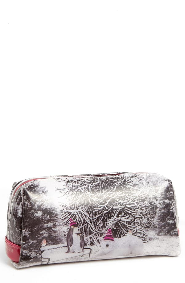 Main Image - Ted Baker London 'Holiday - Snow Place' Cosmetics Case