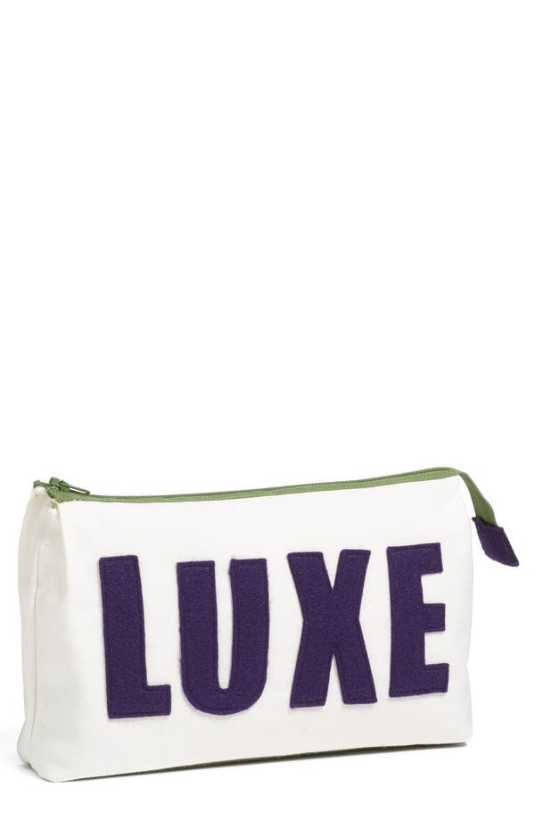 Main Image - Alexandra Ferguson 'Luxe' Fabric Cosmetics Pouch