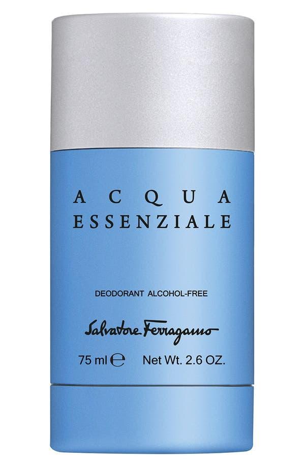 Alternate Image 1 Selected - Salvatore Ferragamo 'Acqua Essenziale' Deodorant Stick