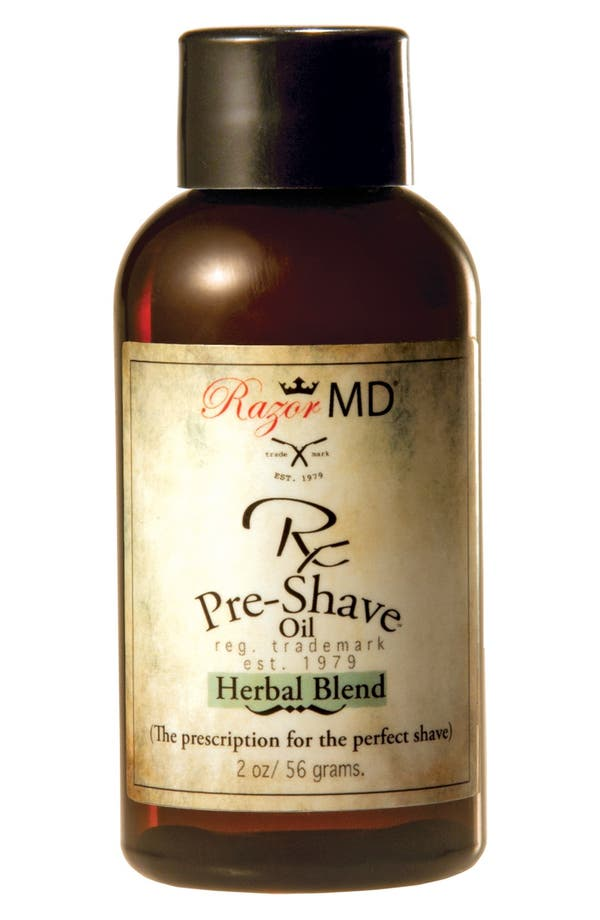 Alternate Image 1 Selected - Razor MD® 'Herbal Blend' Rx Pre-Shave Oil