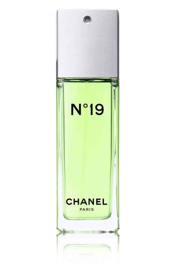 Alternate Image 1 Selected - CHANEL N°19  Eau de Toilette Spray