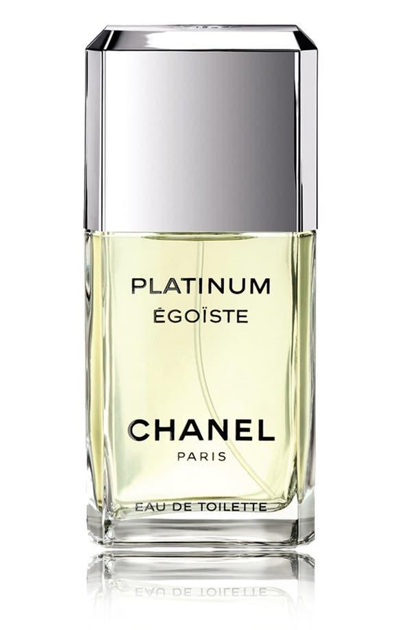 Alternate Image 2  - CHANEL PLATINUM ÉGOÏSTE  Eau de Toilette Spray