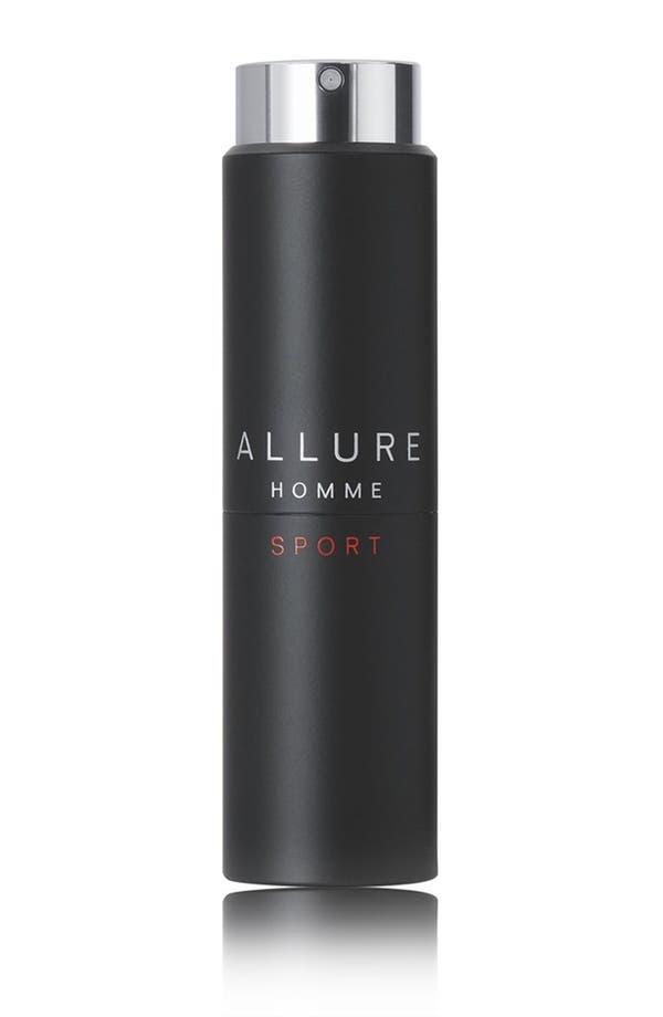 Alternate Image 1 Selected - CHANEL ALLURE HOMME SPORT  Eau de Toilette Refillable Travel Spray