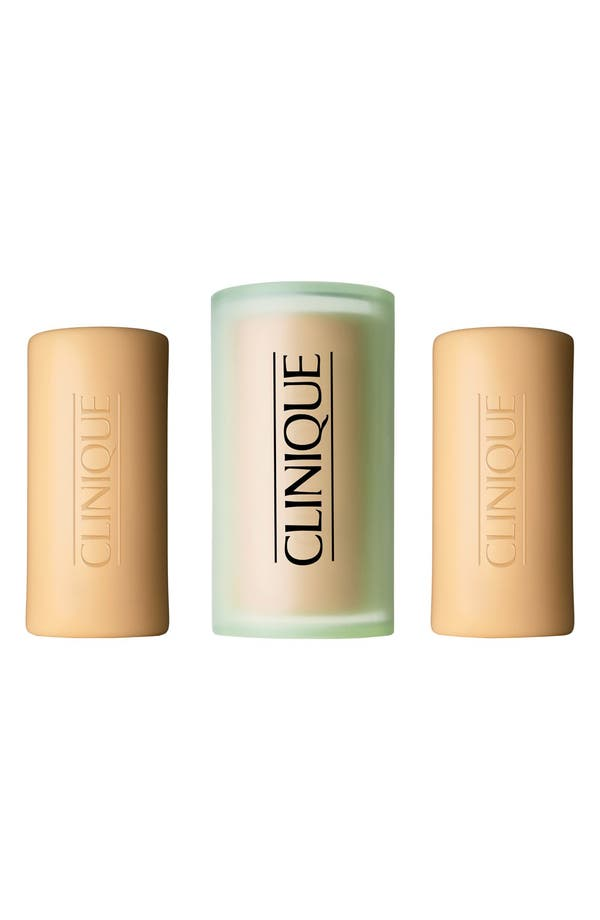 Main Image - Clinique Three Little Soaps with Travel Dish