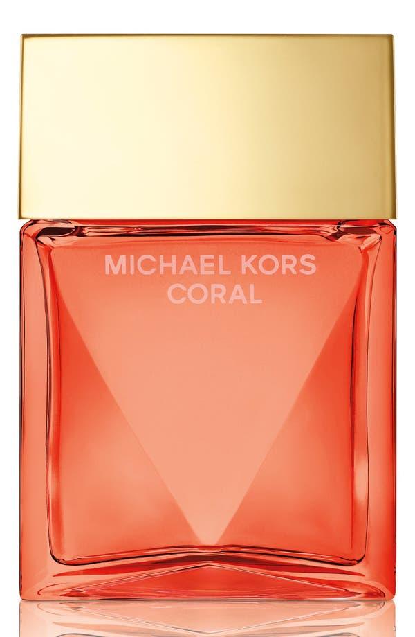 Alternate Image 1 Selected - Michael Kors 'Coral' Eau de Parfum Spray