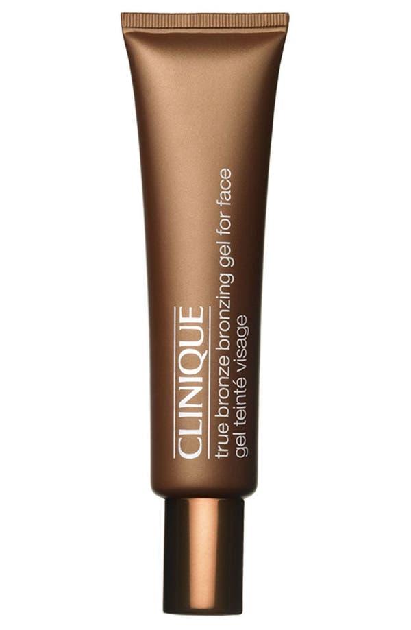 Alternate Image 1 Selected - Clinique True Bronze Bronzing Gel for Face
