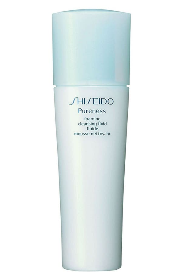 Alternate Image 1 Selected - Shiseido 'Pureness' Foaming Cleansing Fluid