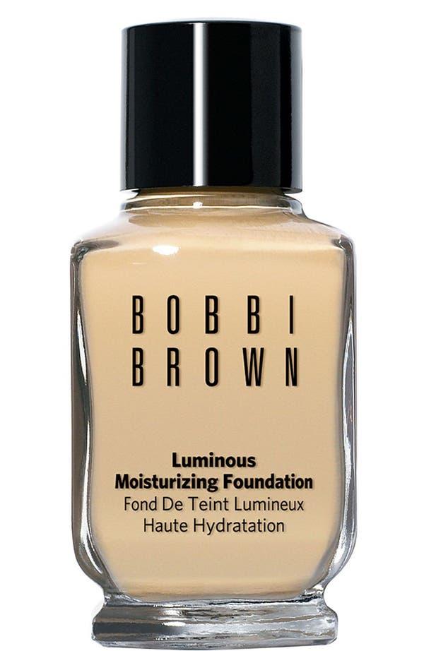 Alternate Image 1 Selected - Bobbi Brown Luminous Moisturizing Foundation