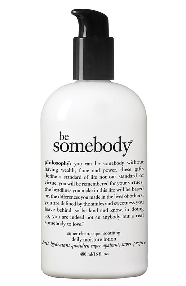 Alternate Image 1 Selected - philosophy 'be somebody' lightly scented body lotion