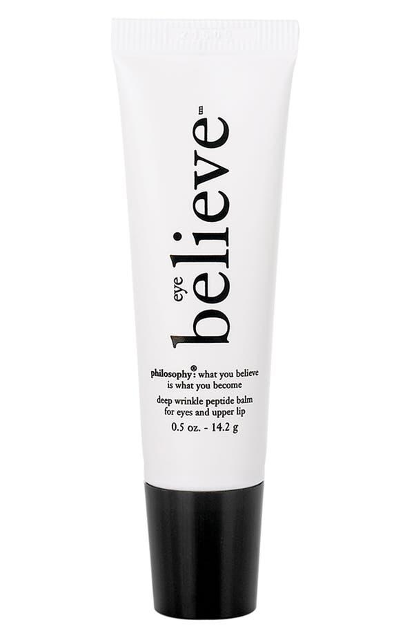 Alternate Image 1 Selected - philosophy 'eye believe' deep wrinkle peptide gel