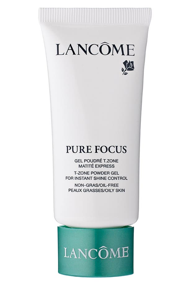 Alternate Image 1 Selected - Lancôme 'Pure Focus' T-Zone Powder Gel for Instant Shine Control