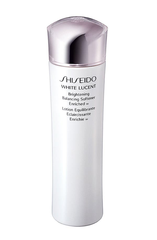 Alternate Image 1 Selected - Shiseido 'White Lucent' Brightening Balancing Softener