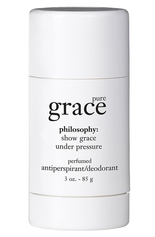 Alternate Image 1 Selected - philosophy 'pure grace' perfumed antiperspirant /deodorant