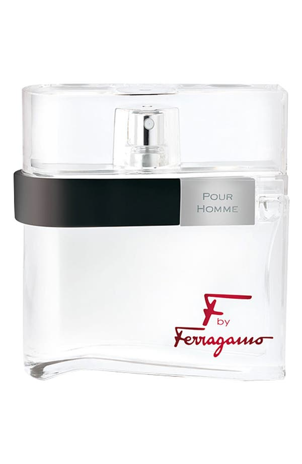 Alternate Image 1 Selected - Salvatore Ferragamo 'F by Ferragamo pour Homme' Eau de Toilette