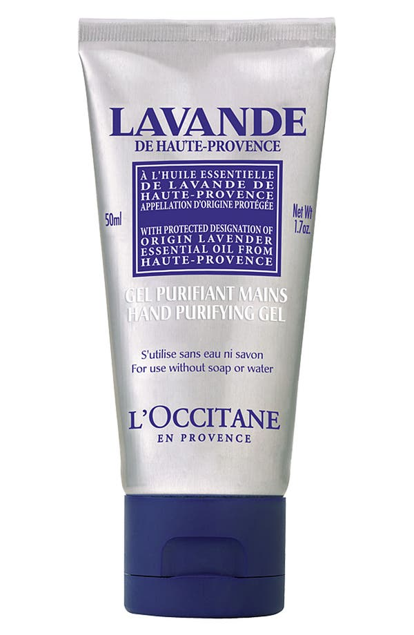 Main Image - L'Occitane Lavender Hand Purifying Gel