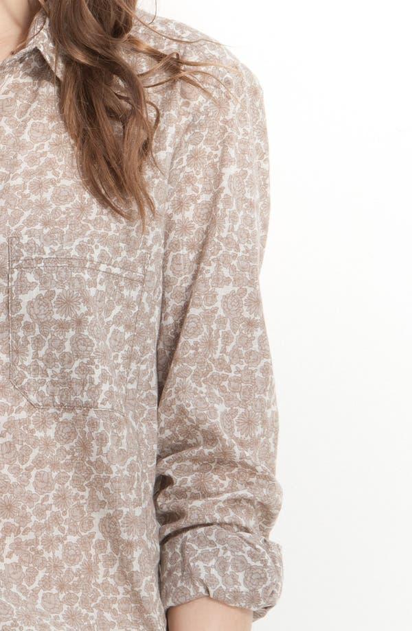 Alternate Image 3  - Caslon® Boyfriend Shirt