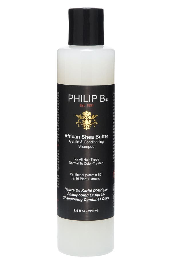 Alternate Image 1 Selected - PHILIP B® African Shea Butter Gentle & Conditioning Shampoo