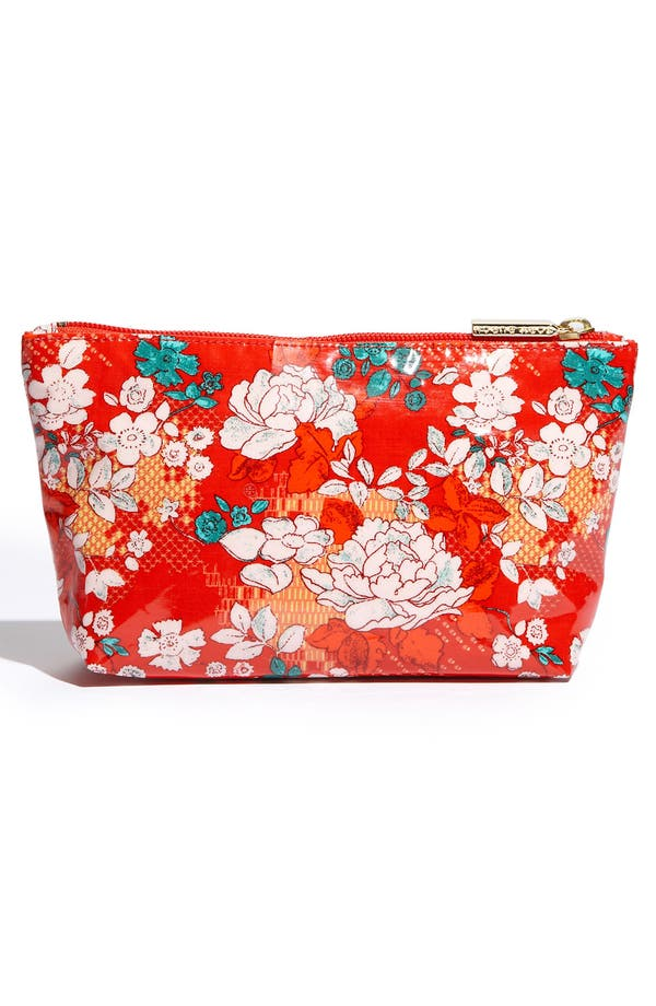 Alternate Image 4  - Tory Burch Coated Poplin Cosmetics Case