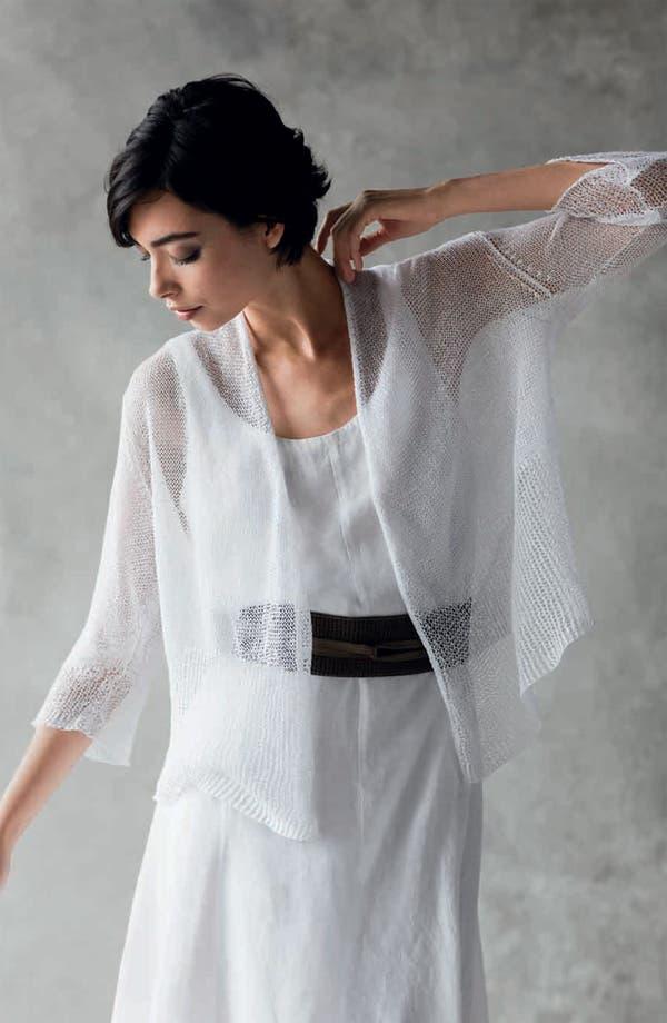 Alternate Image 5  - Eileen Fisher Cotton Dress with Convertible Hem