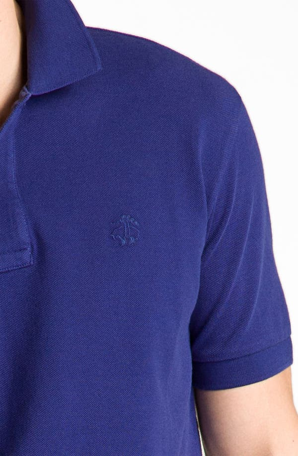 Alternate Image 3  - Brooks Brothers Washed Piqué Polo