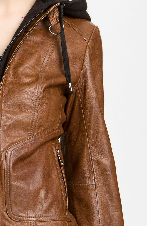 Alternate Image 3  - Marc New York by Andrew Marc Leather Moto Jacket