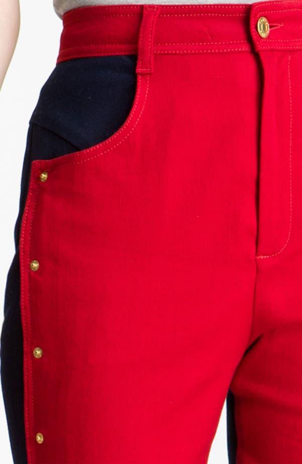 Alternate Image 3  - KENZO Studded Colorblock Jeans