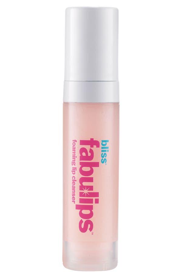Main Image - bliss® 'fabulips' Foaming Lip Cleanser