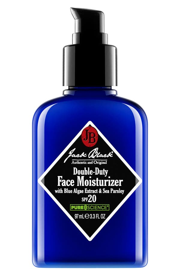 Alternate Image 1 Selected - Jack Black Double Duty Face Moisturizer SPF 20