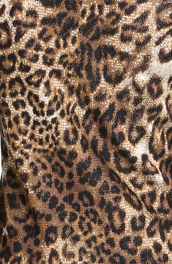 Alternate Image 3  - St. John Collection Cheetah Jacquard Sweater