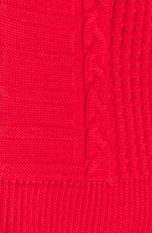 Alternate Image 3  - St. John Yellow Label Cable Knit Bomber Jacket