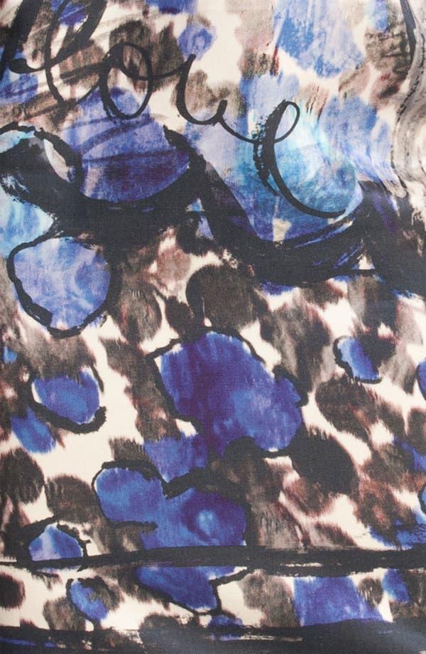 Alternate Image 2  - Lanvin Floral Painted Strapless Dress