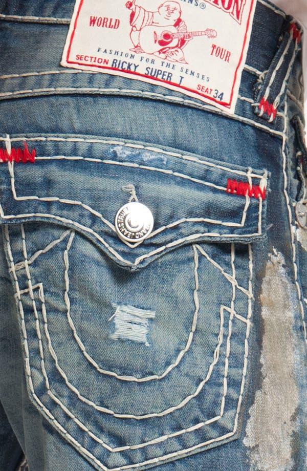 Alternate Image 4  - True Religion Brand Jeans 'Ricky' Straight Leg Jeans (Bounty)