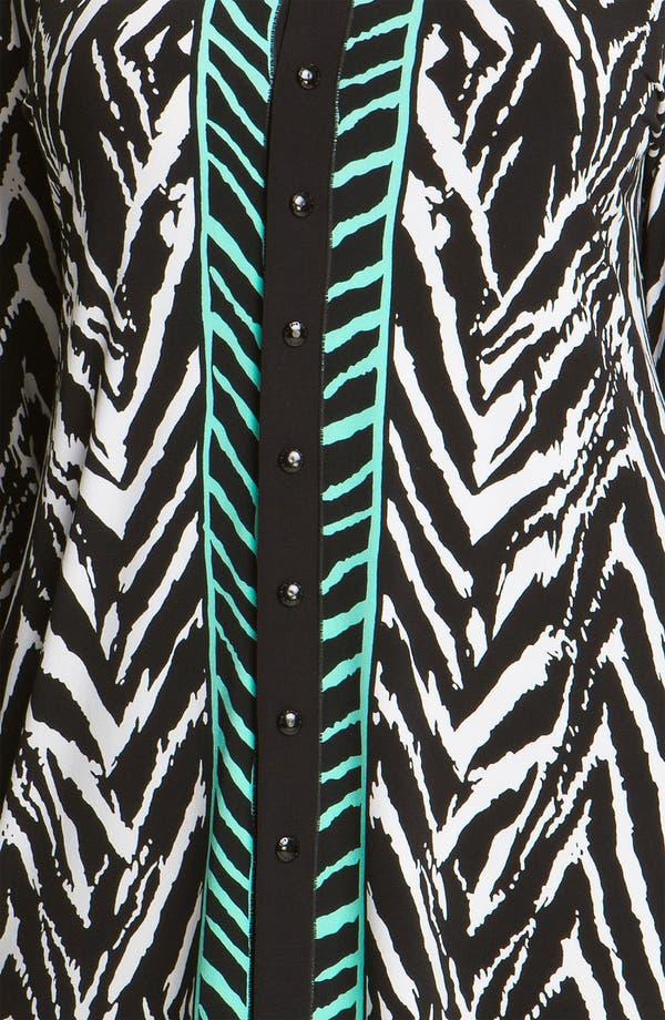 Alternate Image 3  - Eva Varro Button Front Tunic (Plus)