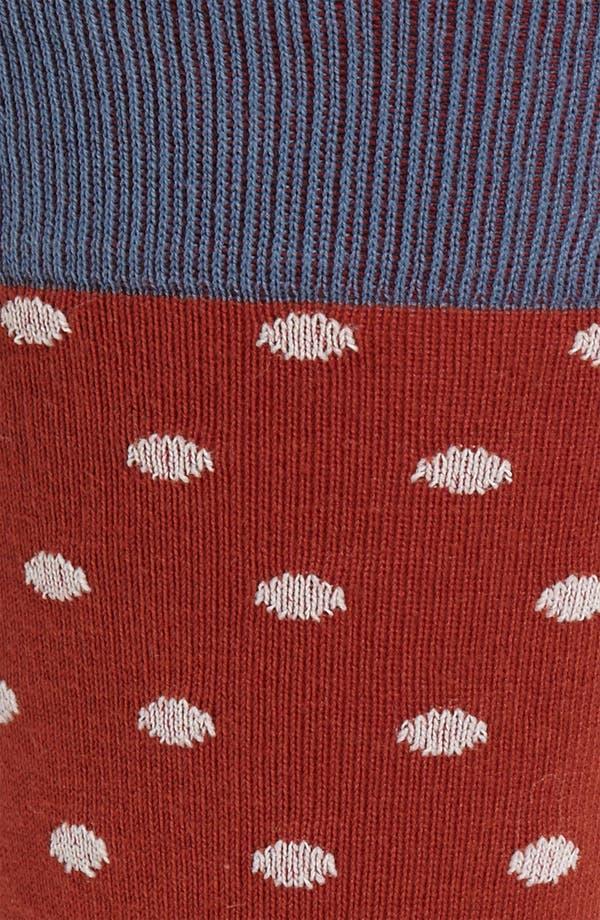 Alternate Image 2  - hook + ALBERT Polka Dot Socks