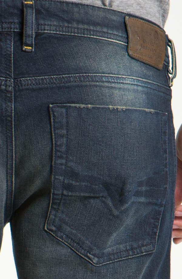 Alternate Image 4  - DIESEL® 'Zatiny' Bootcut Jeans (802C)