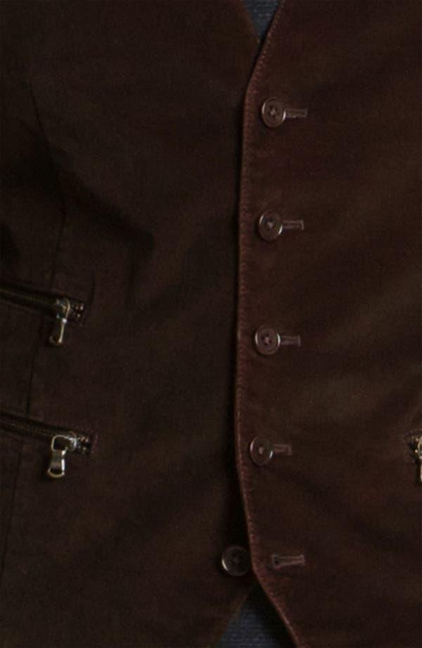 Alternate Image 3  - John Varvatos Star USA Zip Pocket Vest