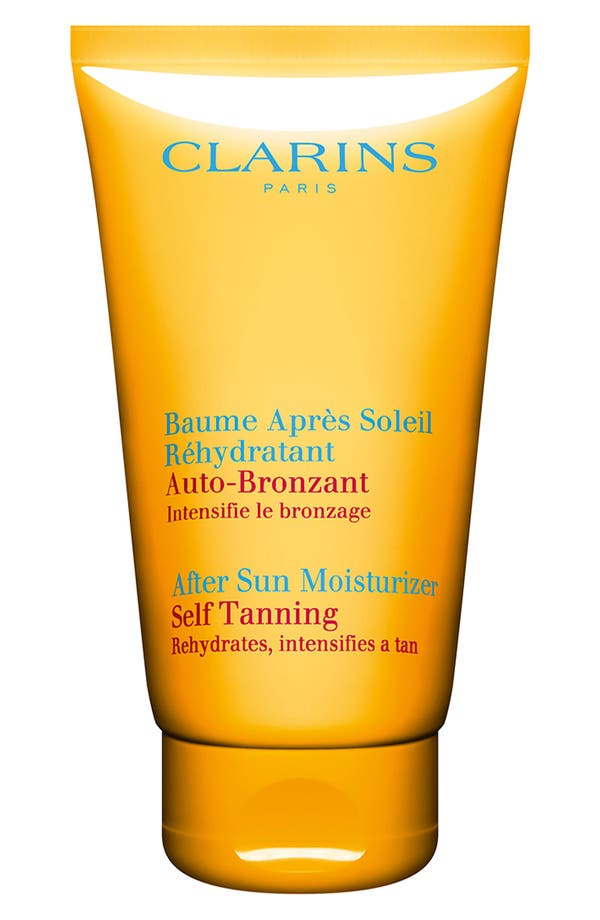 Alternate Image 1 Selected - Clarins After Sun Moisturizer Self Tanning