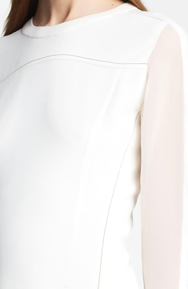 Alternate Image 3  - Reed Krakoff Contrast Stitch Dress