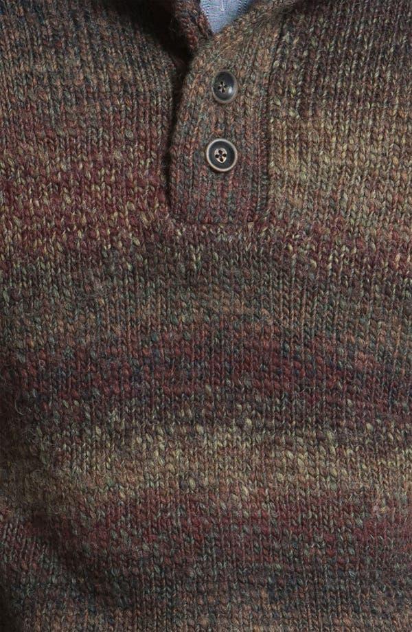 Alternate Image 3  - Hickey Freeman Mock Neck Sweater