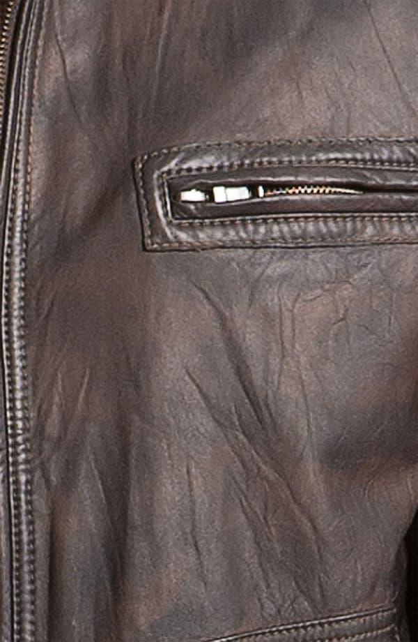 Alternate Image 3  - Tommy Bahama 'Island Aviator' Leather Jacket