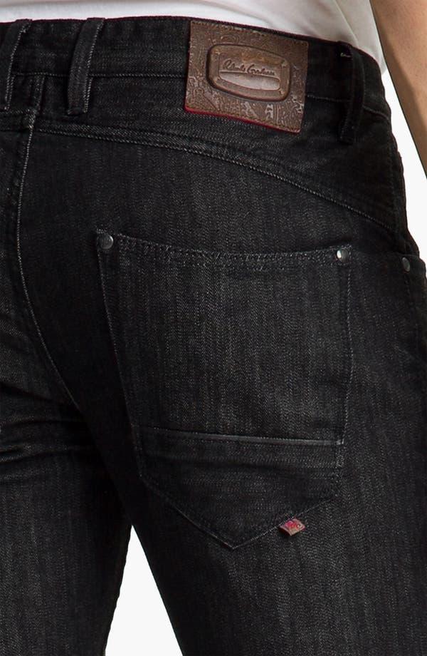 Alternate Image 4  - Robert Graham Jeans 'Noir' Straight Leg Jeans