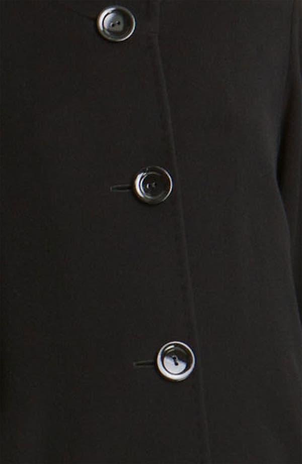 Alternate Image 3  - Cinzia Rocca Four Button Long Coat