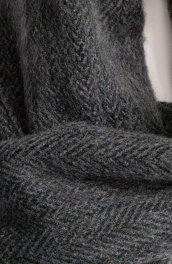 Alternate Image 2  - Nordstrom Men's Shop Wool Scarf
