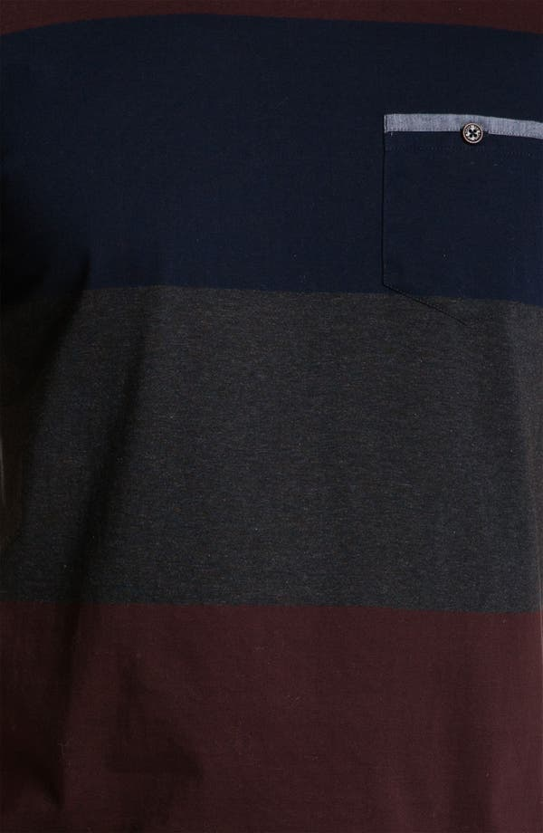 Alternate Image 3  - Ted Baker London 'Bigstripe' Crewneck T-Shirt