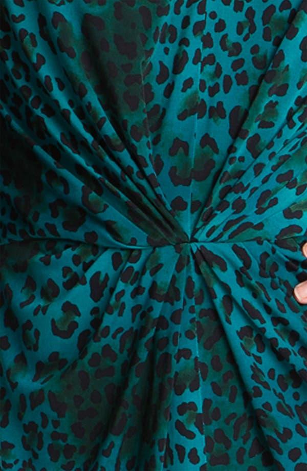 Alternate Image 3  - Tahari Animal Print Jersey Dress