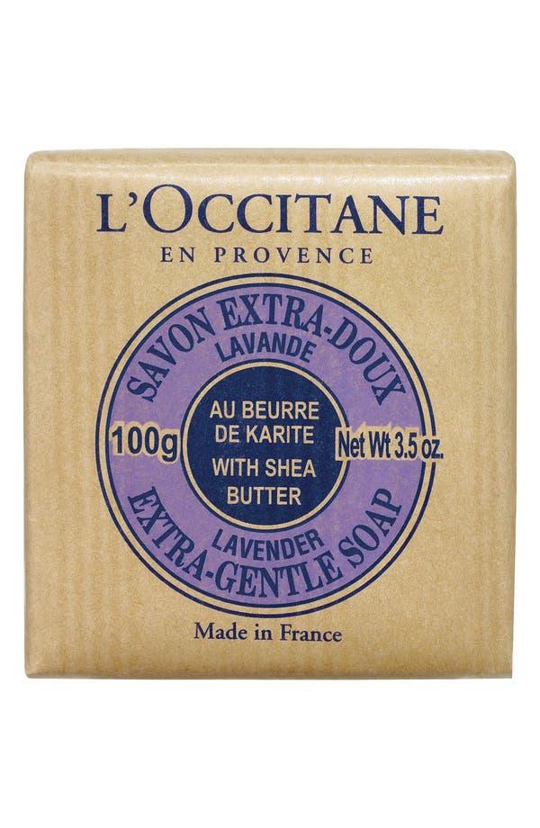 Main Image - L'Occitane Lavender Shea Soap - Travel Size